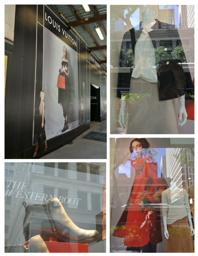 Autumn Impact:  Fashionable Windows Of Chicago