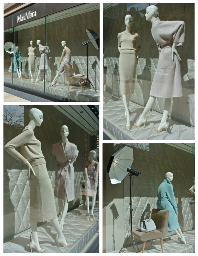 Max Mara:  Visual Window  Delights In September