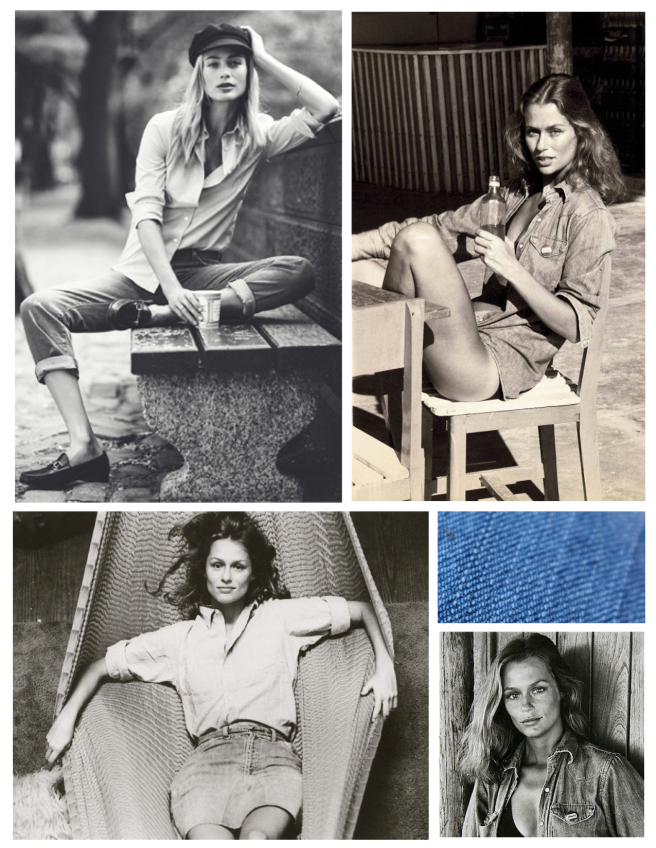 Denim Love:  Carolyn Murphy & Lauren Hutton