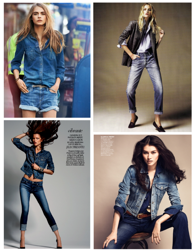 Indigo Blue Hues:  Denim Love