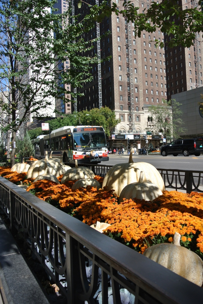 Chicago's Michigan Avenue In October
