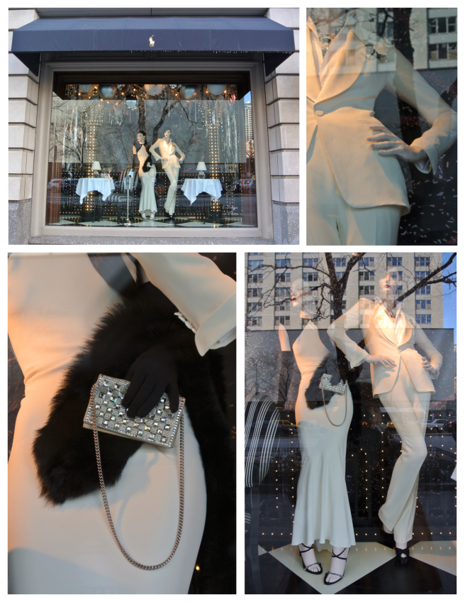Holiday Glamour Behind The Windows Of Ralph Lauren