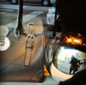 "My ""Selfie"":  Mirrored Reflections From The Window of Ralph Lauren"