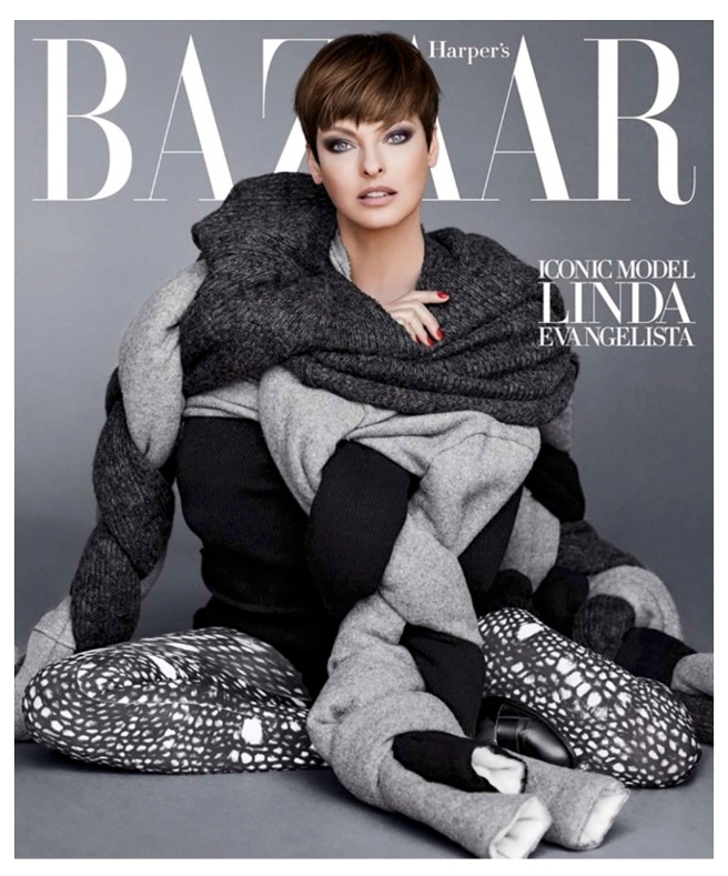Layered Icon Status: Enduring Super Model, Linda Evangelista