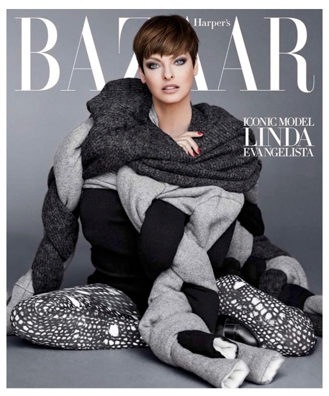 Layered Icon Status: Enduring Super Model, Linda Evangelista
