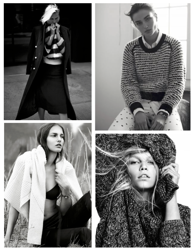 Woven & Knitted Warmth Of Personal Style:  Sweaters