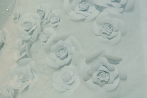 "Chanel's Camellias:  ""Snow Capped"" Floral iconic Delight"