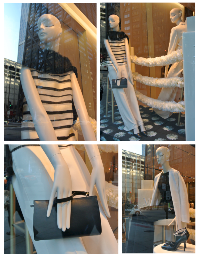 Black & White Winter Delights:  Max Mara