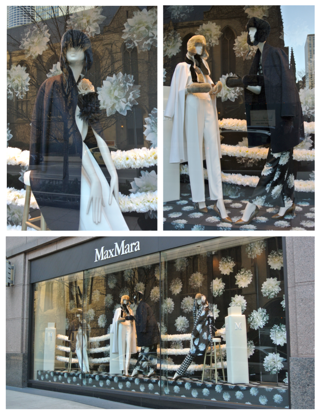 Visual Delights Of Winter & Flowers:  Max Mara