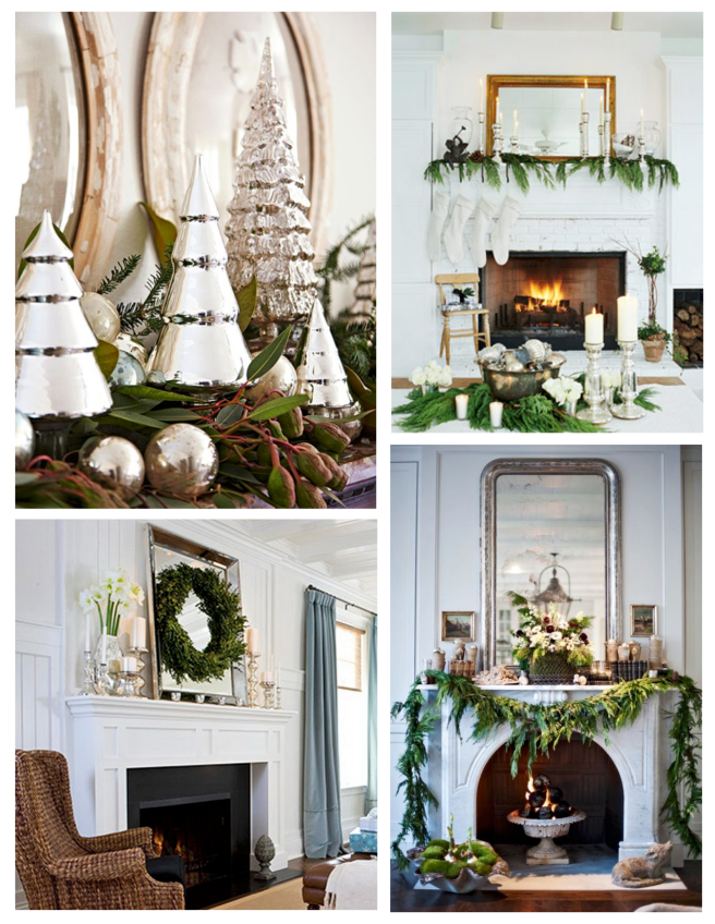 Festive Embellishments Of Holiday Appeal:  Mantel Display