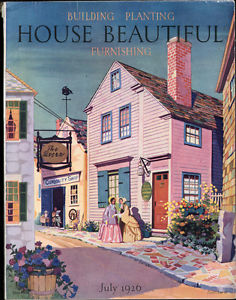 House Beautiful, Circa 1926