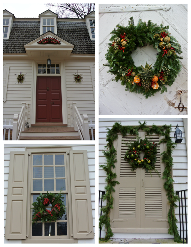 Embellished With Nature In Colorful, Artistic Array: Colonial Williamsburg Wreaths