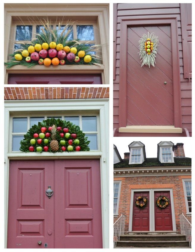 Colonial Williamsburg: Fruited Holiday Appeal