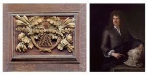 Grinling Gibbons (1648-1721) Dutch-British Sculptor & Wood Carver