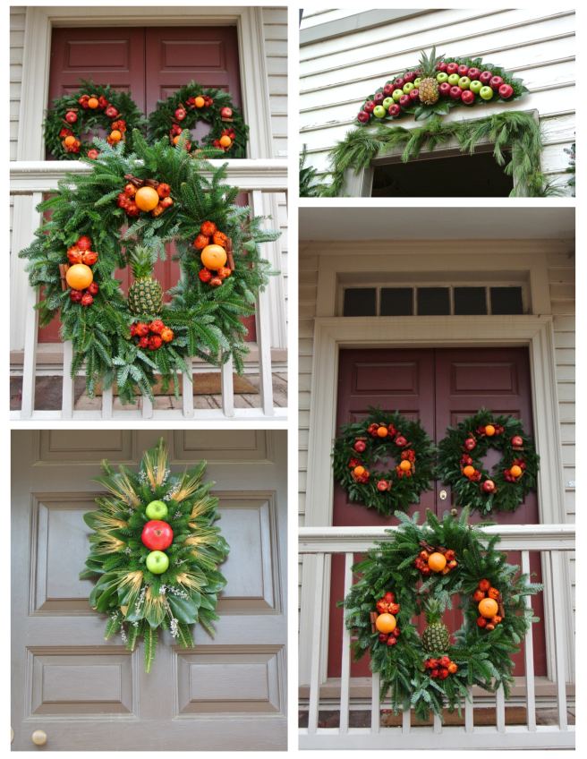 festoons of natural delights colonial williamsburg holiday wreaths