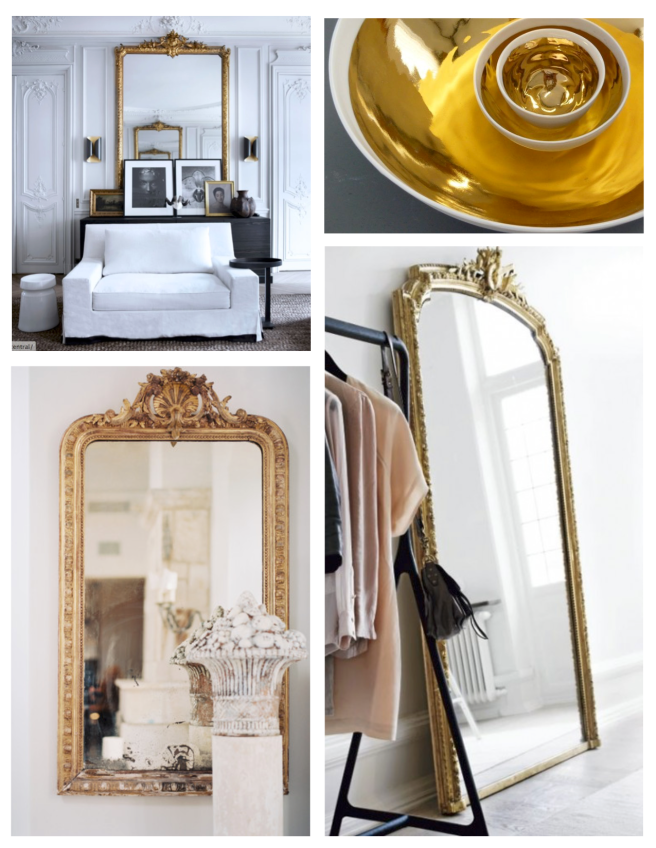 Gold Reflections: Interior Inspirations Of Golden Hue