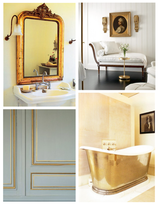 Gilded & Golden Interior Appeal