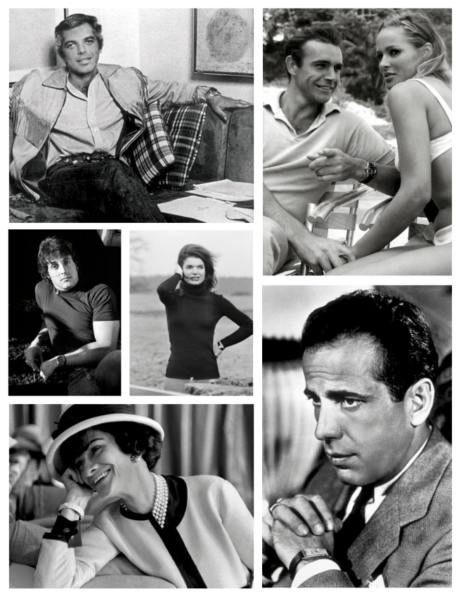 Icons Of Film, Life & Fashion And The Watch