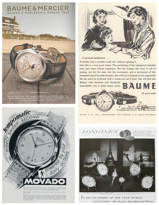 Advertisements Of A Changing Classic:  The Wristwatch