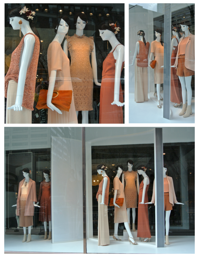 Hue Of Impact:  The Fashionable Windows Of Zara
