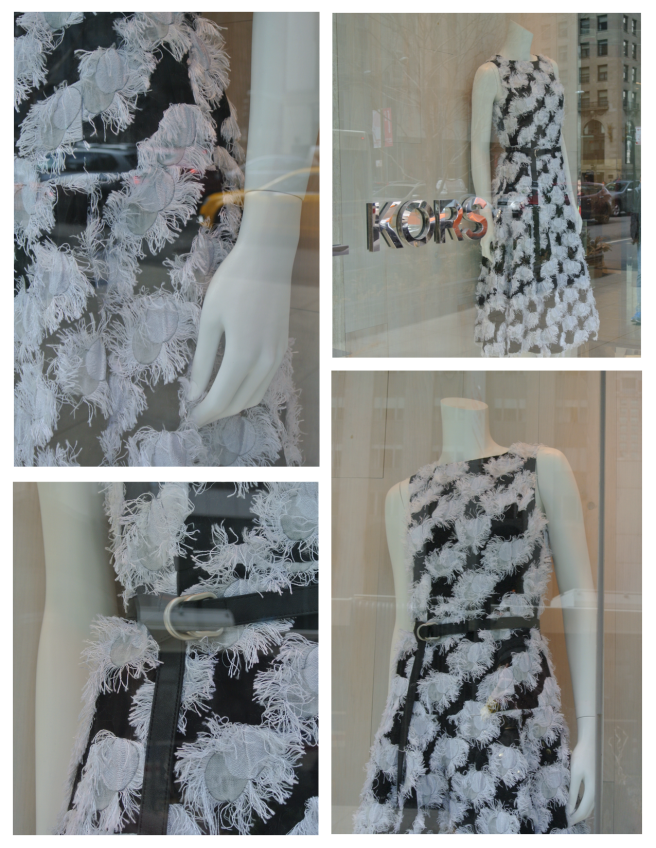 Black & White Textural Appeal/Michael Kors
