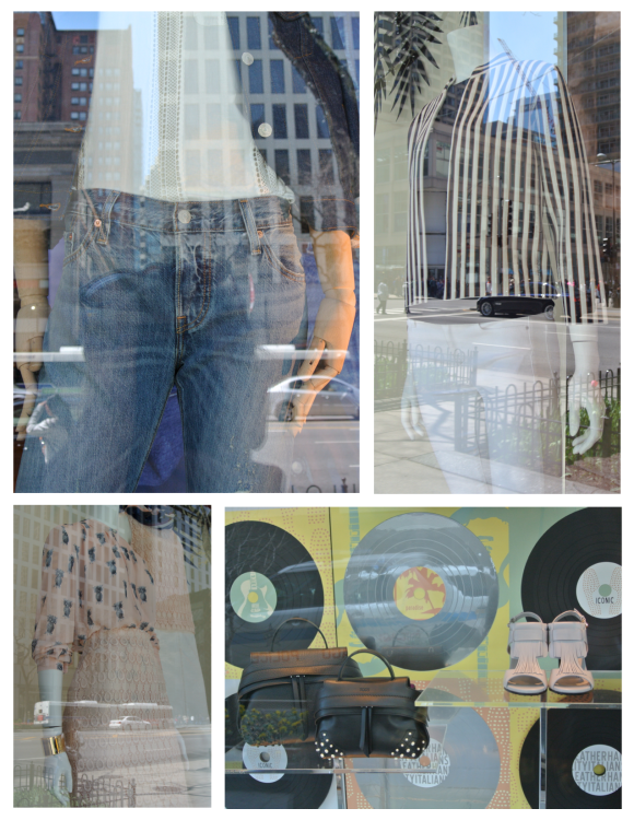 Fashionable Appeal From Behind Fashion's Windows