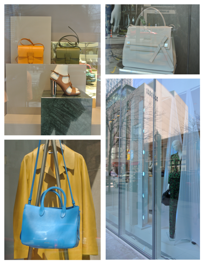 Spring's Windows Of Fashion's Change:  April In Chicago