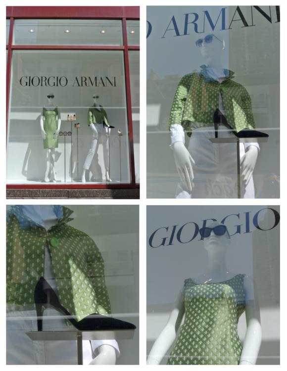 Spring Green Appeal:  Georgio Armani