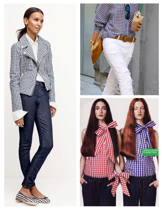 Moden Gingham:  Fashion's Evolution Of  A Classic Pattern