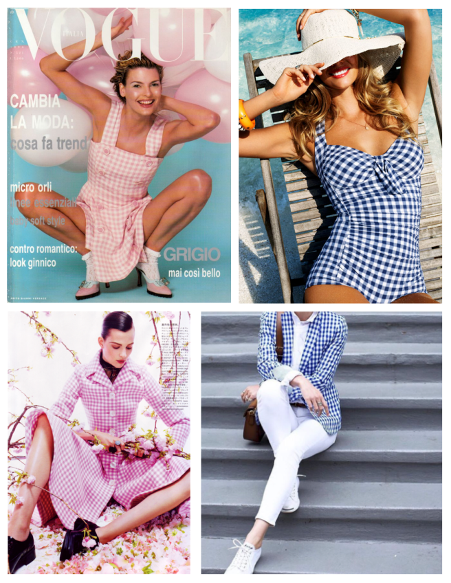 Gingham Style: Colorful & Vivid Checked Appeal