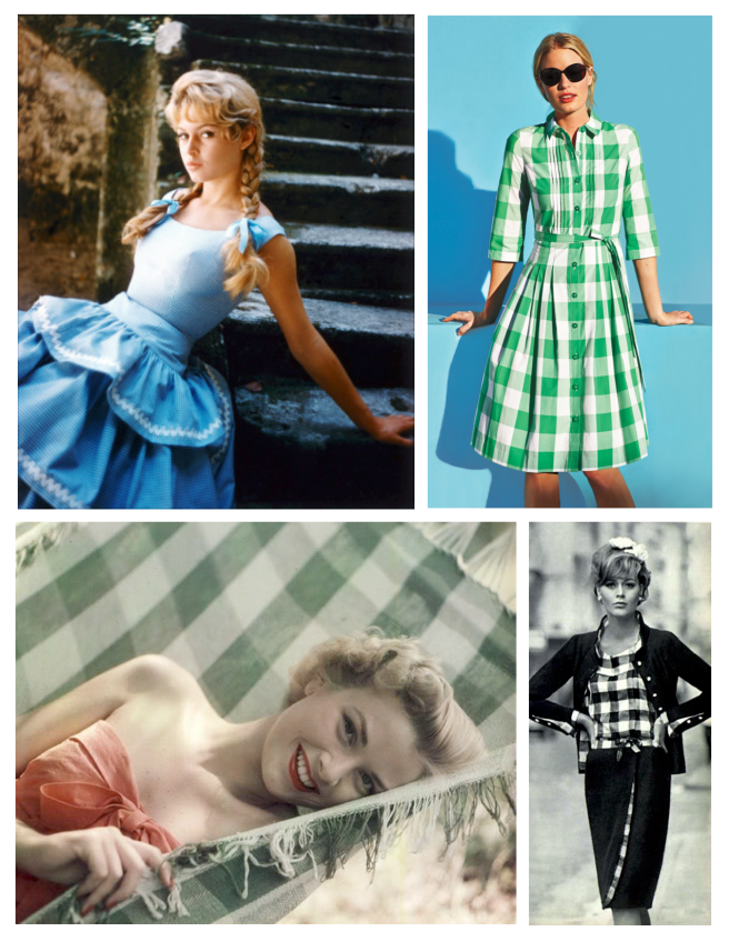 Icons & Fashion's Appeal:  Gingham