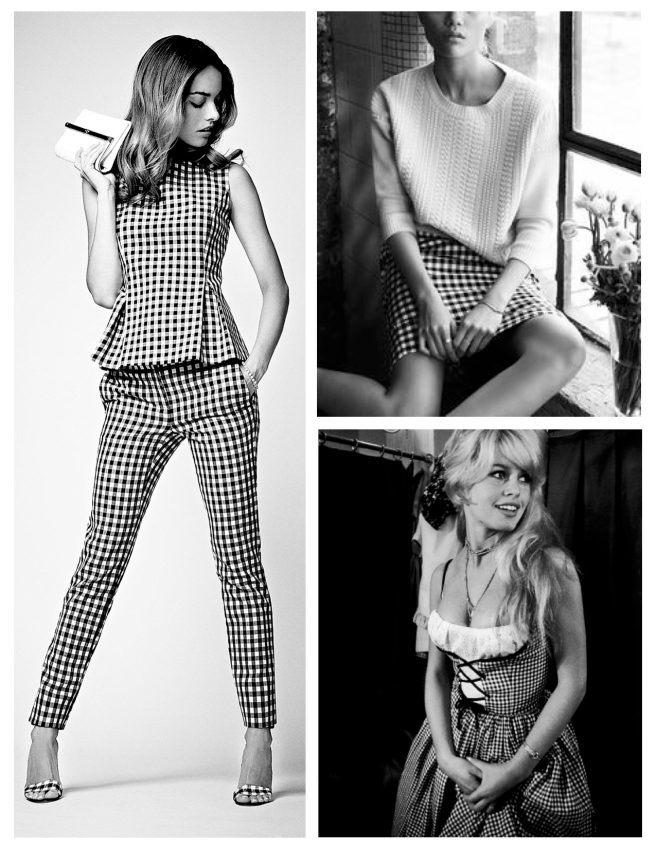 Fashion's Gingham:  Always A Classic