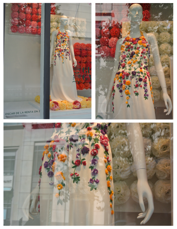 Embellishment In Floral Bliss:  The Windows Of Sax Fifth Avenue