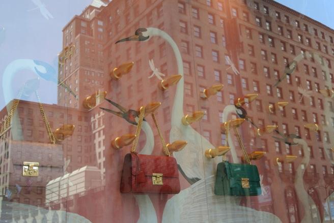 Gucci's  Visual Window Artistry