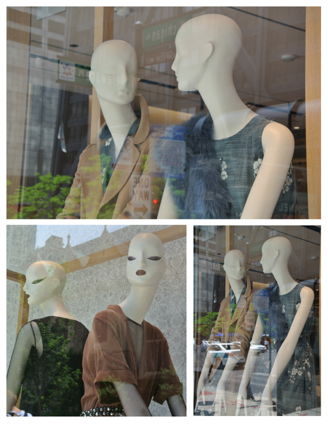 Mannequins Of Classic Style:  Max Mara