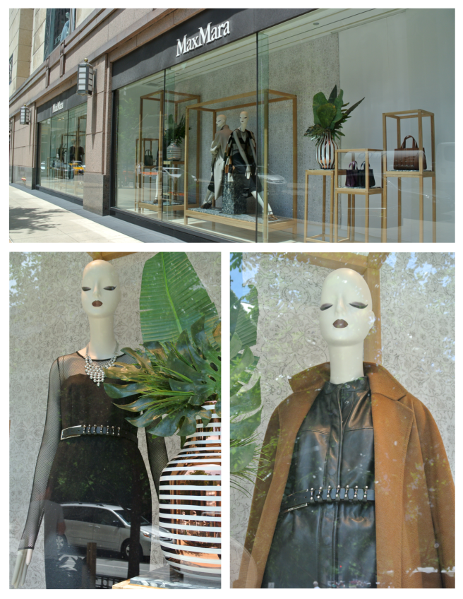 The Windows Of Max Mara:  Layered Insights Of Fashion's Season Ahead