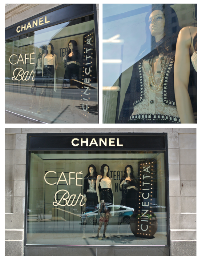 The Windows Of Chanel:  Visual Delights Of Style