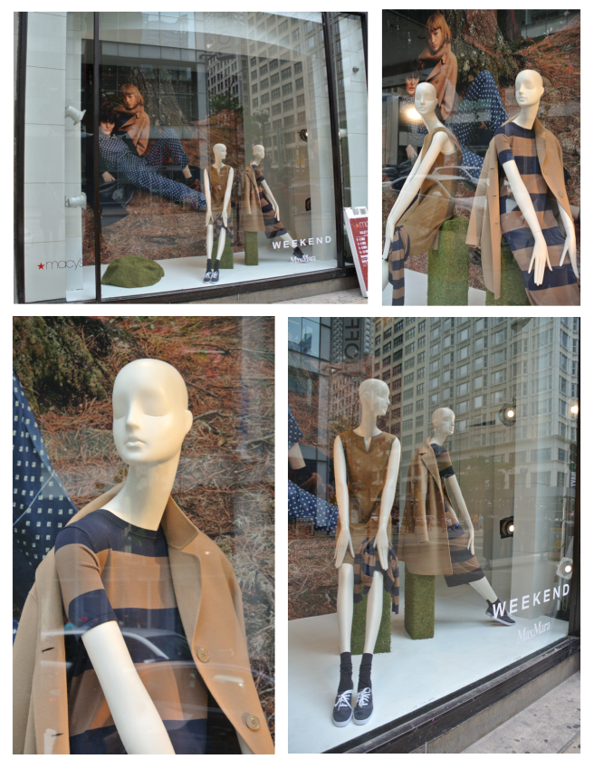 Max Mara:  Fall Inspirations From The Windows Of Macy's/State Street