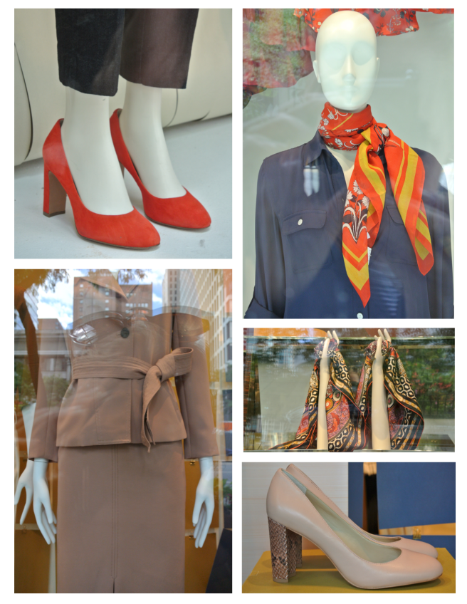 Autumnal Appeal:  Windows Of Fashion