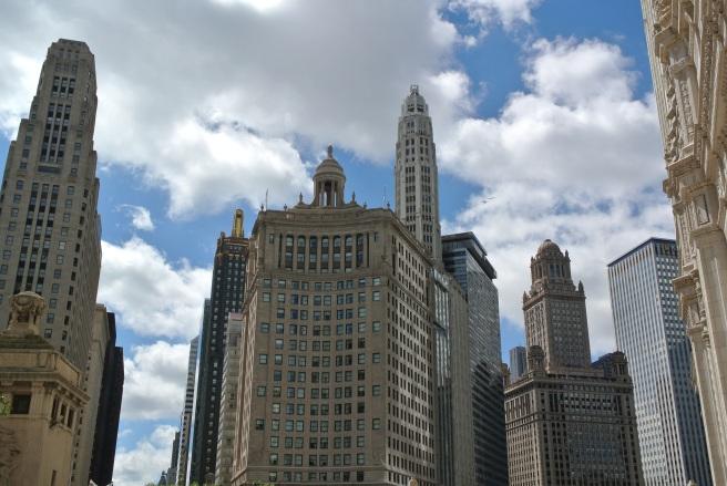 Stellar City Scape :  Chicago Love