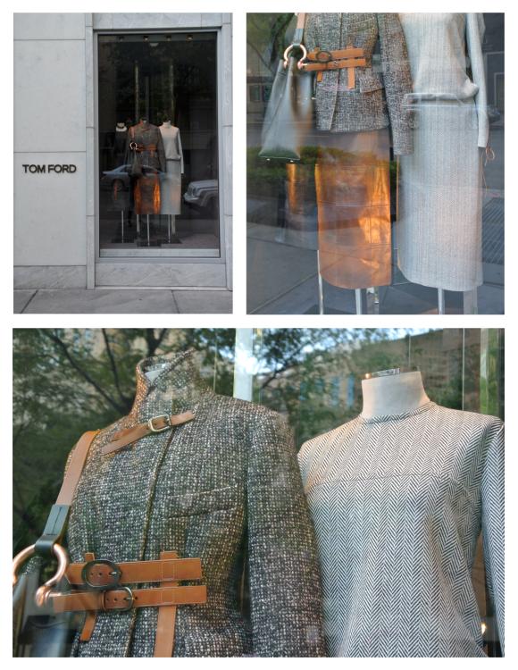 Tom Ford:  Autumn Plaid & Leather