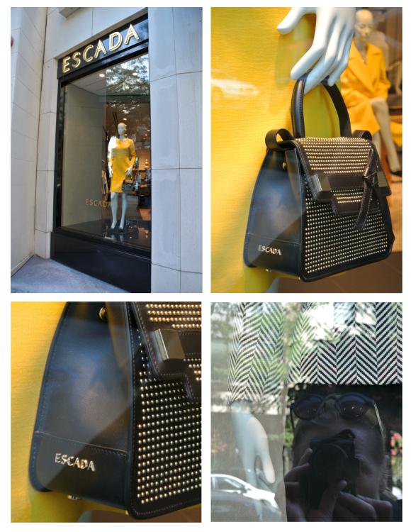 Yellow & Black:  Escada Visuals