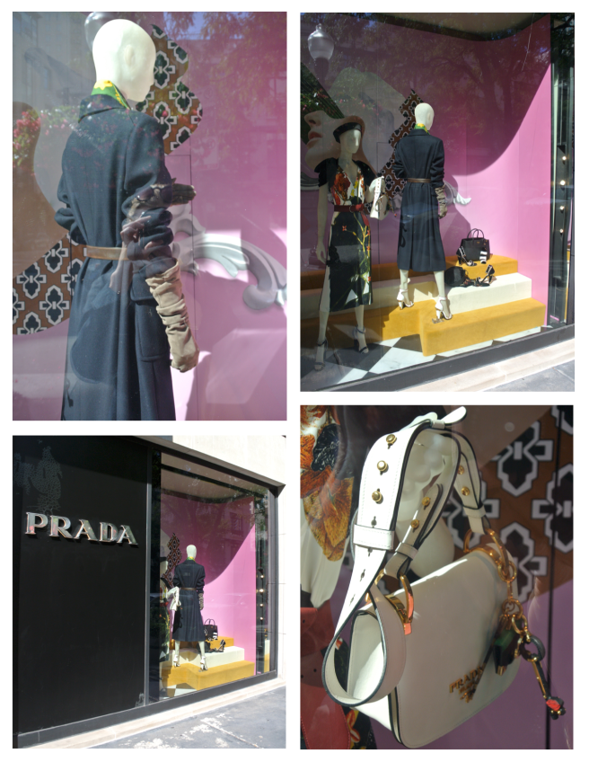 Prada: Distinctive Visuals In Sunlight