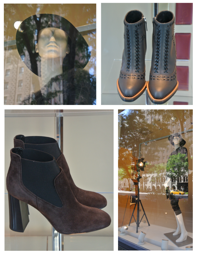 Autumn's Effects:  Chicago Fashionable Windows In August