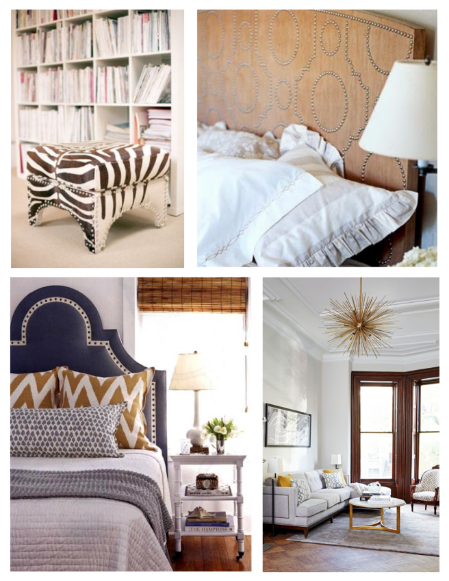 Trimmed In Style:  Nailhead Design