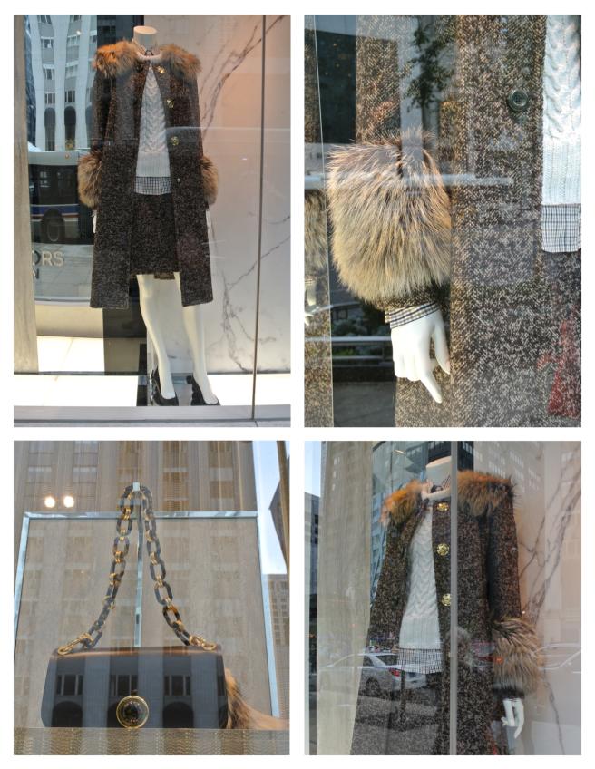 Michael Kors:  Fur Cuffed Style