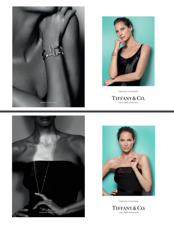 Tiffany's Advertisements & The Timeless Christy Turlington