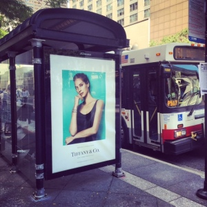 Chicago's Magnificent Mile & Fashionable Style:  Christy Turlington & Tiffany's