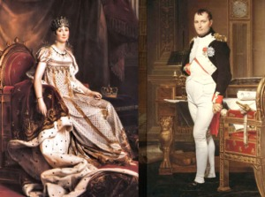 French Royalty: Josephine & Napoleon