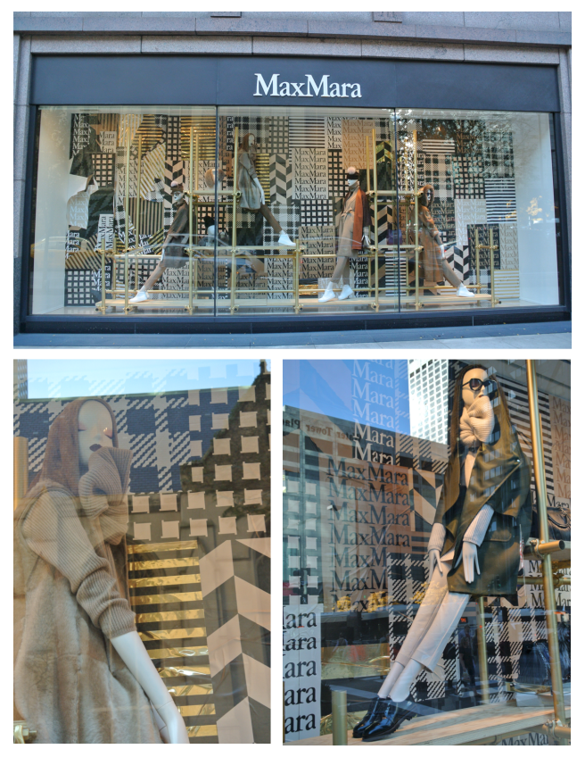 Window Appeal:  Max Mara In Layers Of Fashionable Style